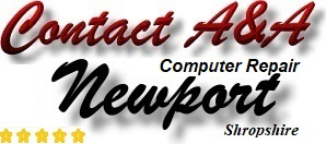 Contact A&A Newport Shropshire Computer Repair
