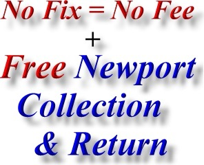 Newport Shropshire HP Computer Repair Collect Return