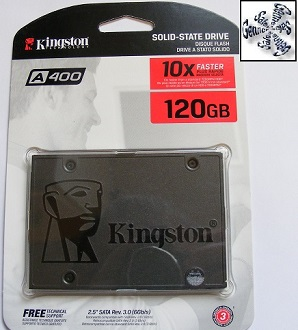 Newport Shropshire Laptop Kingston Solid State Drive Installation