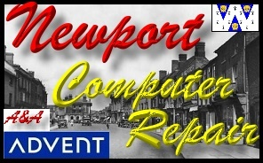 Advent Newport Laptop Repair - Advent Shropshire PC Repair
