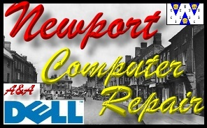 Dell Newport Laptop Repair and Dell Shropshire PC Repair