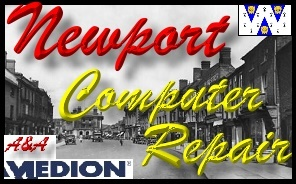 Medion Newport PC Repair, Medion Laptop Repair Newport