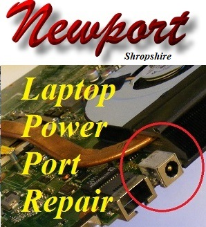 Newport Laptop Power Charger Port Repair