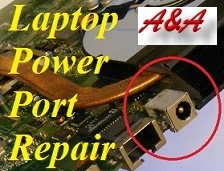 Newport Asus Laptop Power Socket Repair