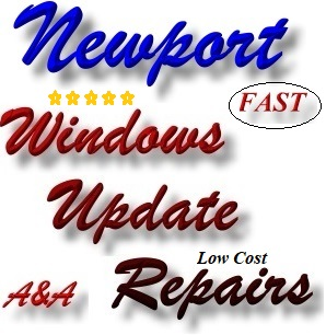 Newport Shrops Computer Update Fix - Windows Update Repair